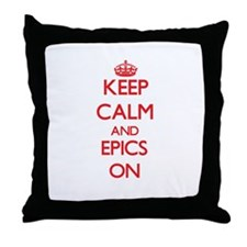 EPICS Throw Pillow