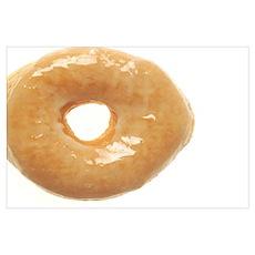 Glazed Donut Poster