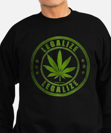 Unique Weed Sweatshirt