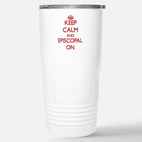 EPISCOPAL Stainless Steel Travel Mug