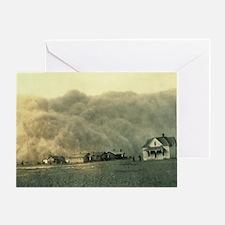Texas Dust Storm Greeting Card