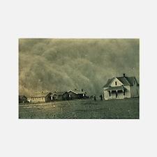 Texas Dust Storm Rectangle Magnet