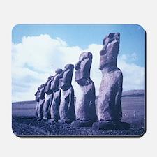 Easter Island Statues Mousepad
