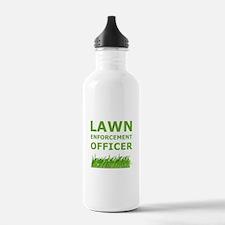 Lawn Officer Green Water Bottle