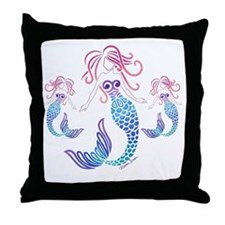 Cute Family baby Throw Pillow