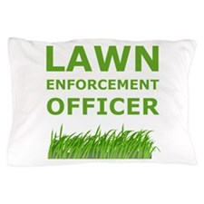 Lawn Officer Green Pillow Case