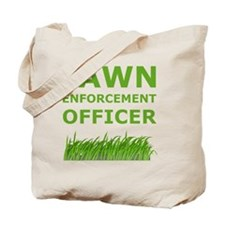 Lawn Officer Green Tote Bag
