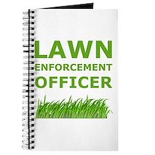 Lawn Officer Green Journal
