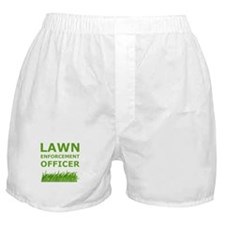 Lawn Officer Green Boxer Shorts
