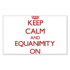 EQUANIMITY Decal