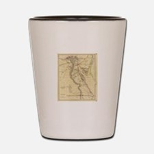 Vintage Map of Egypt (1832)  Shot Glass