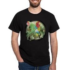 Peach-faced Lovebirds T-Shirt