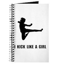 Kick Like A Girl Journal