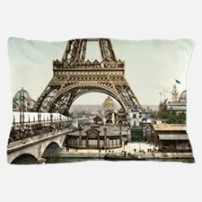 Base of The Eiffel Tower Pillow Case
