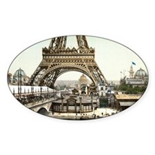 Base of The Eiffel Tower Decal