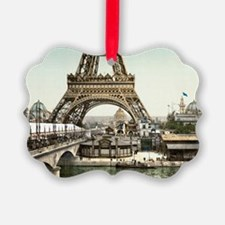 Base of The Eiffel Tower Ornament