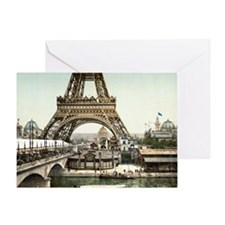 Base of The Eiffel Tower Greeting Card