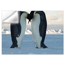 Emperor Penguin Courtship Wall Decal