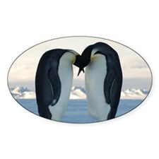 Emperor Penguin Courtship Decal