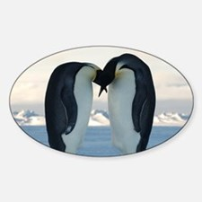 Emperor Penguin Courtship Decal
