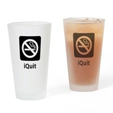 iQuit Drinking Glass