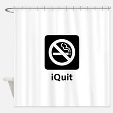 iQuit Shower Curtain