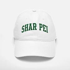Shar Pei (green) Baseball Baseball Cap