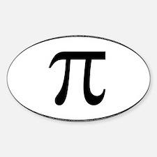Unique Math pi Decal