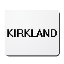 Kirkland digital retro design Mousepad