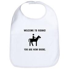 Horseback Riding Broke Bib