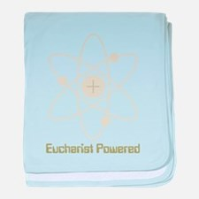 eucharistpowered_dark.png baby blanket