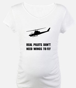 Helicopter Pilot Wings Shirt