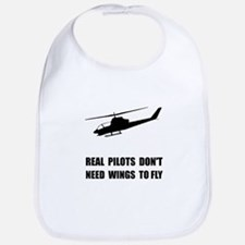 Helicopter Pilot Wings Bib