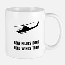 Helicopter Pilot Wings Mugs