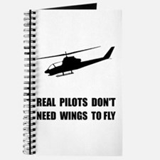 Helicopter Pilot Wings Journal