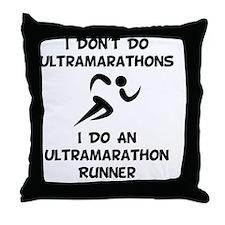Do Ultramarathon Runner Throw Pillow