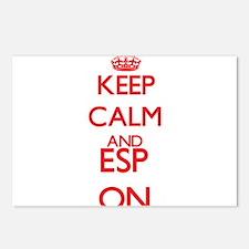 ESP Postcards (Package of 8)