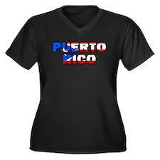 Puerto Rico Plus Size T-Shirt