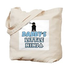 Daddy's Little Ninja Tote Bag