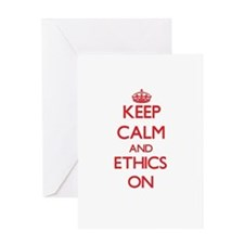 ETHICS Greeting Cards