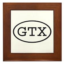 GTX Oval Framed Tile
