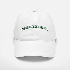 English Cocker Spaniel (green Baseball Baseball Cap