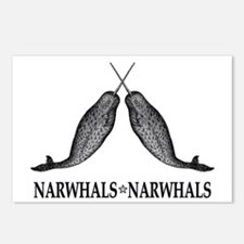 Narwhals Postcards (Package of 8)