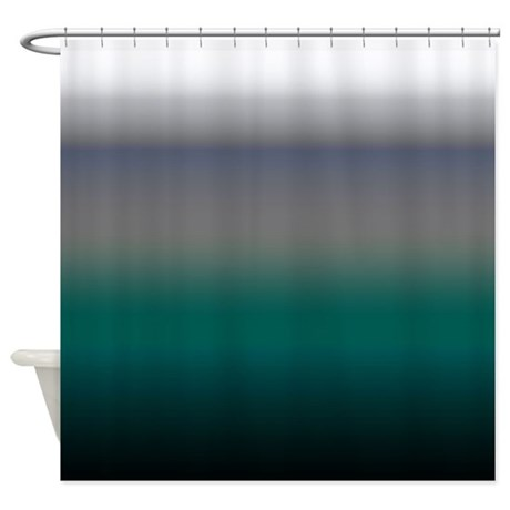 Teal Blue Sea Shower Curtain By TheShowerCurtainCenter