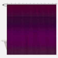 Royal Plum Shower Curtain