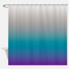 Classic Bold Pastel Shower Curtain