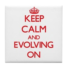 EVOLVING Tile Coaster