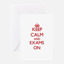EXAMS Greeting Cards