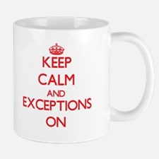 EXCEPTIONS Mugs