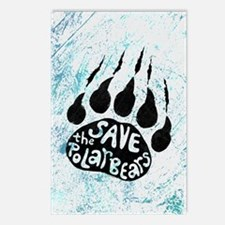 Save Polar Bears Postcards (Package of 8)